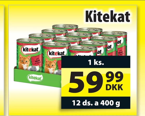 Offer On Kitekat From PRISS At DKK 5999