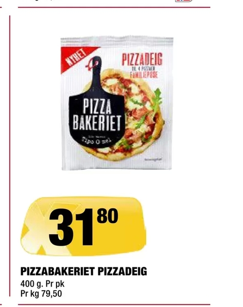 Offer On Pizzabakeriet Pizzadeig From Coop Extra At NOK 318